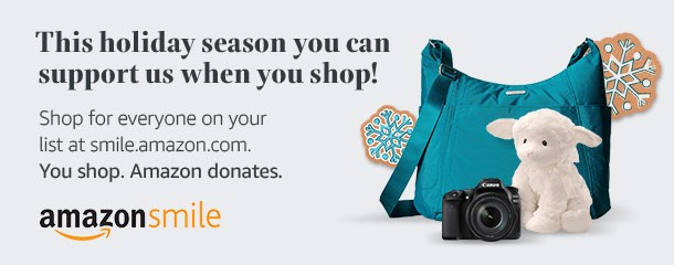 Support Legal Aid of East Tennesse when you shop for holiday gifts at SmileAmazon.com.